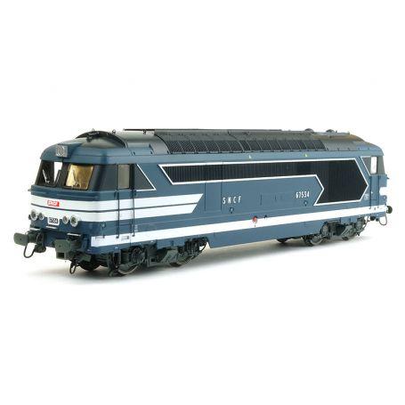BB 67534 CAEN - SNCF ép. III-IV analogique - HO - REE MB-098