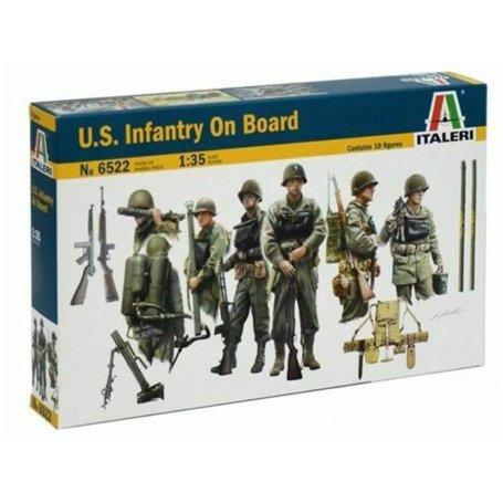 Infanterie US Embarquée 2ème WWII - 1/35 - ITALERI 6522