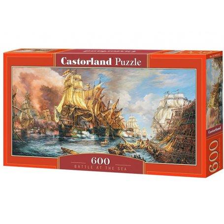 Battle at the sea - Puzzle 600 pièces - CASTORLAND