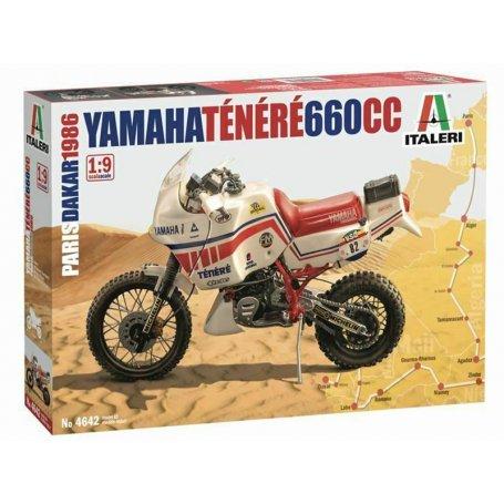 Yamaha Ténéré 660cc - échelle 1/9 - ITALERi 4642