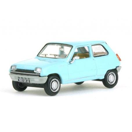 Renault 5 1972 bleu clair - HO 1/87 - NOREV 510523