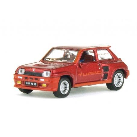 Renault 5 turbo 1980 rouge métallisé - HO 1/87 - NOREV 510524