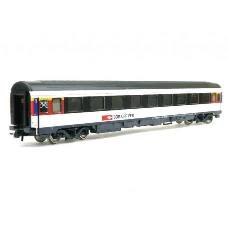 Voiture 1ère CL. SBB Eurocity époque VI - HO 1/87 - ROCO 54166