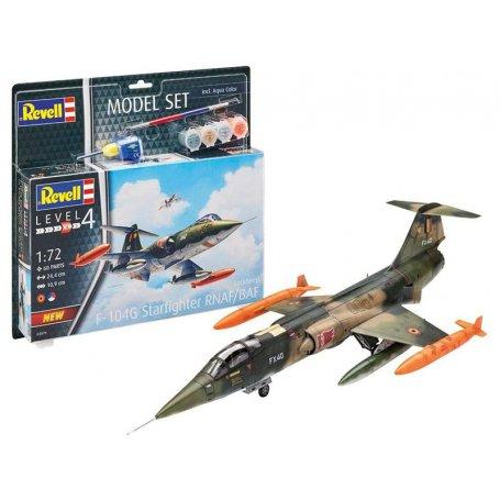 Lockheed F-104 G Starfighter RN kit complet - échelle 1/72 - REVELL 63879