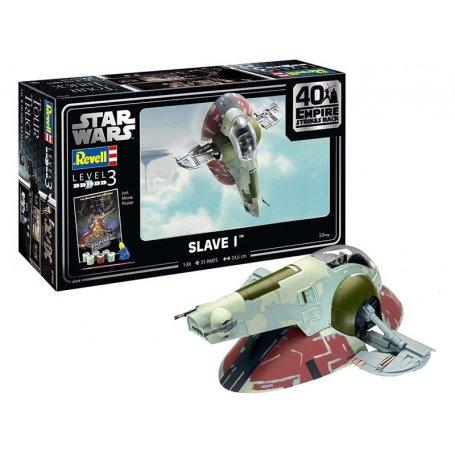 "Slave I-40th Anniversary ""The Empire strikes back"" - Star Wars - échelle 1/88 - REVELL 05678"