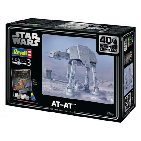 "AT-AT 40th Anniversary ""The Empire Strikes Back"" - Star Wars - échelle 1/53 - REVELL 05680"
