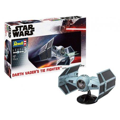 Darth Vader's TIE Fighter - Star Wars - échelle 1/57 - REVELL 06780