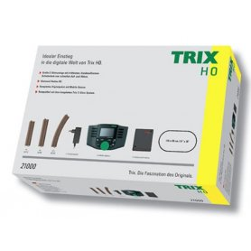 Coffret démarrage digital HO voie C avec Mobile Station - TRIX 21000