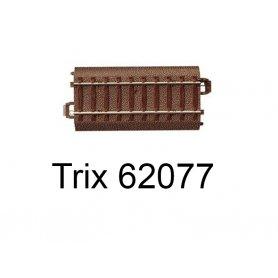 Rail droit voie C 77,5 mm - Trix 62077