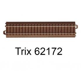 Rail droit voie C 171,7 mm - Trix 62172