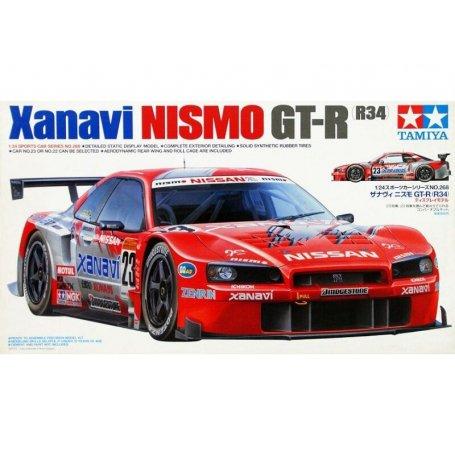 Xanavi Nismo GT-R - échelle 1/24 - TAMIYA 24268