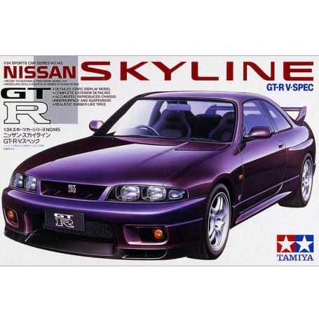 Nissan Skyline GTR V-SPEC - échelle 1/24 - TAMIYA 24145