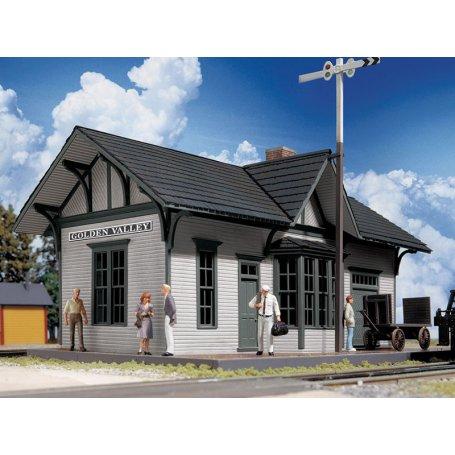 Gare Golden Valley - HO 1/87 - CORNERSTONE 3532