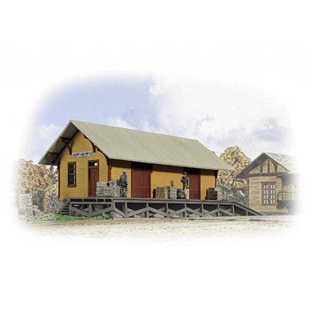 Halle à marchandises Golden Valley - HO 1/87 - CORNERSTONE 3533