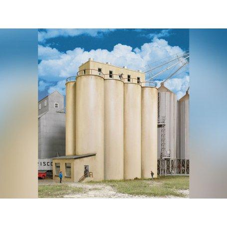 Silos à grain - HO 1/87 - CORNERSTONE 2942