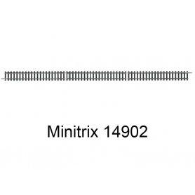 Coupon de rail droit 312.6 mm Minitrix - Trix 14902