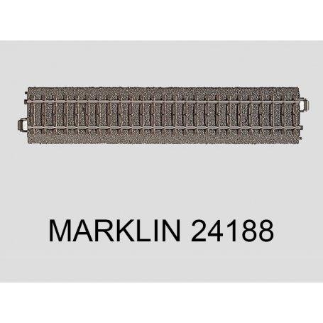 Coupon droit 188.3 mm voie C Marklin 24188