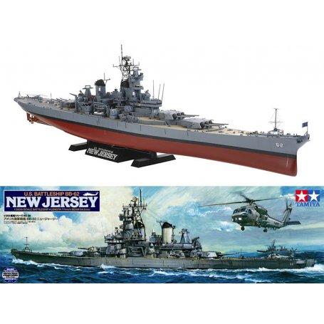 Cuirassé USS New Jersey 1982 - échelle 1/350 - TAMIYA 78028