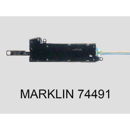 Rail courbe R2-5.7 degrés voie C Marklin 24206