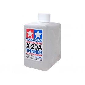 Tamiya X-20A Diluant peinture acrylique 250 ml - TAMIYA 81040