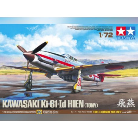 """Ki-61 I d Hien """"Tony""""- 1/72 - Tamiya 60789"""