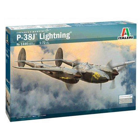 P-38J Lightning - échelle 1/72 - ITALERI 1446