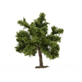 Arbre fruitier feuillu vert moyen à l'unité 7 cm HO ou N - Busch 6331E