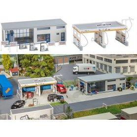 Centre de lavage auto - HO - Faller 130154