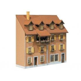 2 demi maisons en relief - HO - Faller 130432
