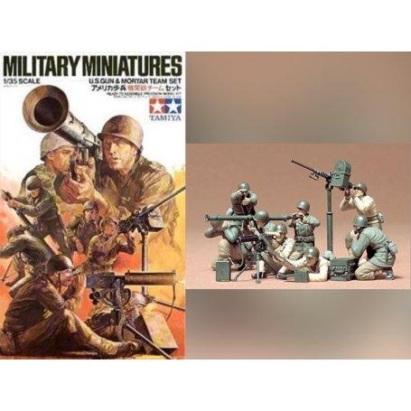 Mortier U.S. et servants WWII - 1/35 - Tamiya 35086