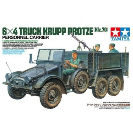 Krupp Protze 6x4 et figurines - 1/35 - Tamiya 35317