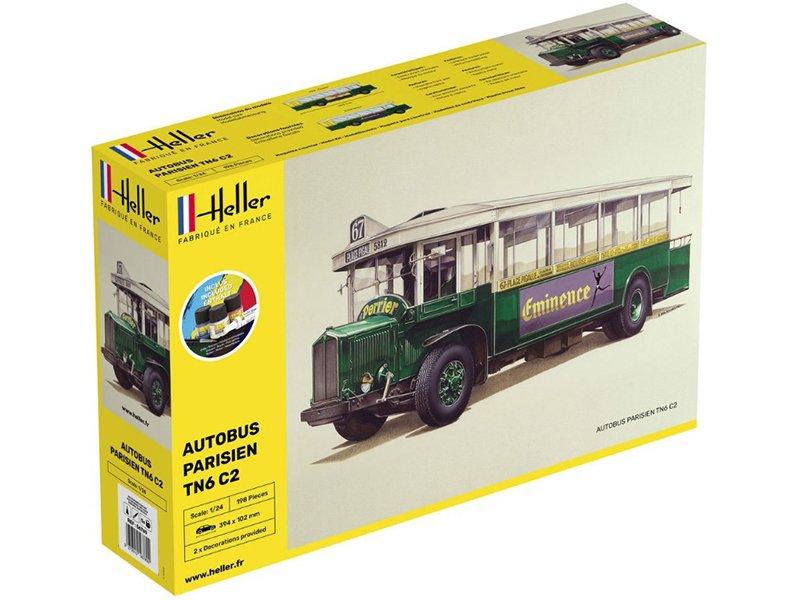 Autobus-parisien-TN6-C1-kit-complet-echelle-1-24-HELLER-56789