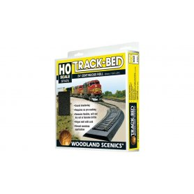 ST1474 - Track Bed Woodland Scenics HO / OO longueur 7 mètres