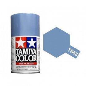 Tamiya TS-58 - Bleu Clair nacré - Pearl light blue - bombe 100 ml