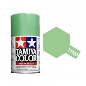 Tamiya TS-60 - Vert Clair nacré - Pearl green - bombe 100 ml