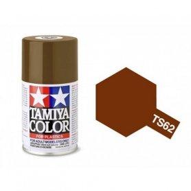 Tamiya TS-62 - Brun OTAN mat - NATO brown - bombe 100 ml