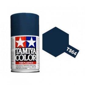 Tamiya TS-64 - Bleu Mica Foncé brillant - Dark Mica Blue - bombe 100 ml
