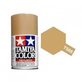 Tamiya TS-68 - Beige Pont mat - Wooden Deck Tan - bombe 100 ml