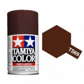 Tamiya TS-69 - Linoleum Pont mat - Linoleum Deck brown - bombe 100 ml