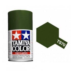 Tamiya TS-70 - Olive Drab JGSDF mat - Olive drab JGSDF - bombe 100 ml