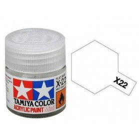 Tamiya X-22 - Vernis brillant - pot acrylique 10 ml