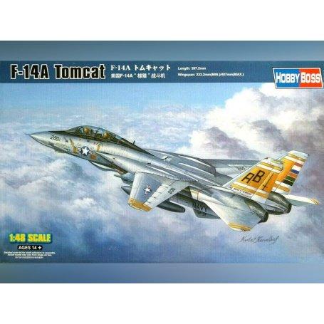 F-14A Tomcat - échelle 1/48 - HOBBY BOSS 80366