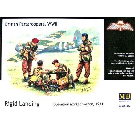 Parachutistes britanniques WWII - 1/35 - MASTER BOX 3534