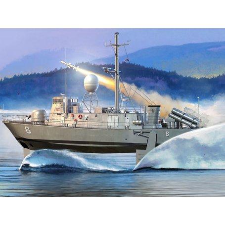 USS PHM of Pegasus Class - échelle 1/200 - HOBBY BOSS 82006