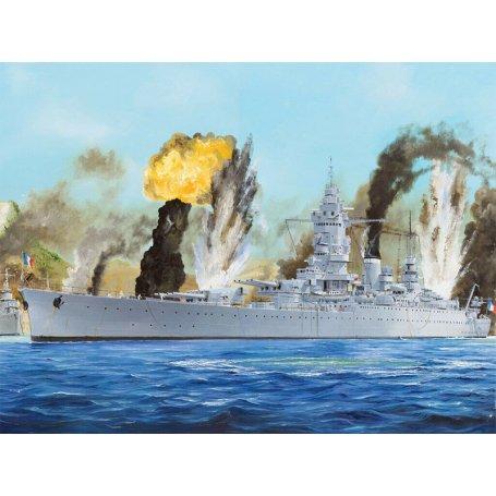 Navire de marine française Dunkerque - échelle 1/350 - HOBBY BOSS 86506
