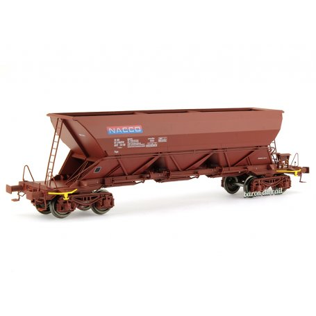 Wagon trémie EX Type 1 «NACCO» - ép. V-VI - HO 1/87 - REE WB-569