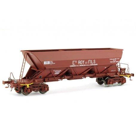 Wagon trémie EX Type 1 «Roy et Fils» - ép. IV-V - HO 1/87 - REE WB-572