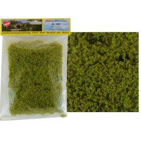 HEKI 1600 - filet floqué vert clair fin 14 x 28 cm