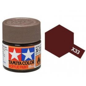 Tamiya X-33 - bronze brillant - pot acrylique 10 ml