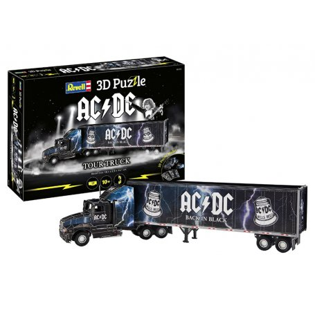 Camion de tournée AC / DC puzzle 3D - 58,6 cm - Revell 00172